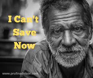 I Can't Save Now - A Scary Literature About Saving Money