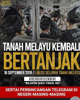 Tanah Melayu Kembali Bertanjak