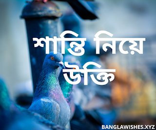 bangla quotes about peace