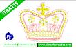 Bordado de Corona Princesa 🚀 Descargar Gratis