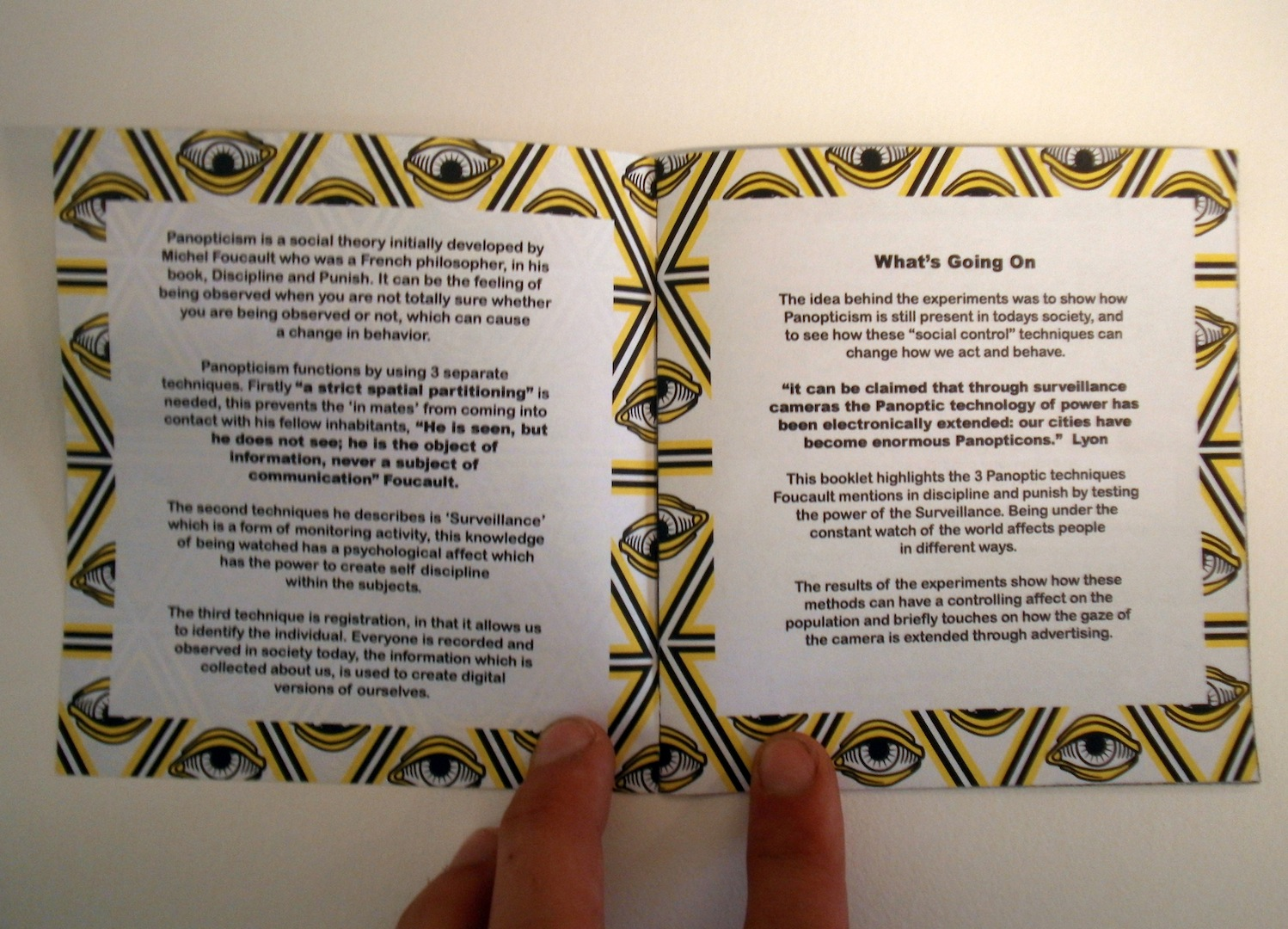 design context 2013 if i had more time i would of printed the booklet out on some satin stock