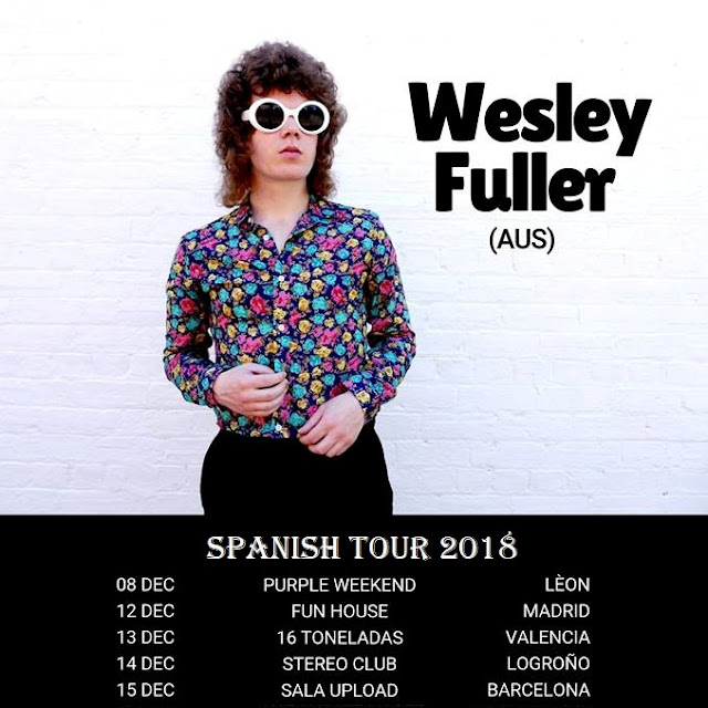 Qué viene WESLEY FULLER - Spanish Tour 2018