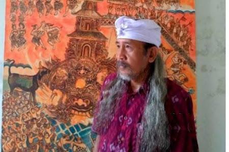 Melukis Pikiran, Karya Seni Ajaib di Batubulan Bali