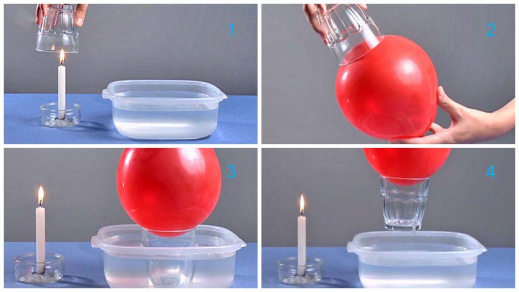 Un Mundo En El Aula De Educacion Infantil Experimento La Fuerza - Experimentos-para-nios-con-globos