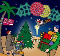 Los regalos, las cenas, las luces, adornos ... ocultan el verdadero sentido de la Navidad