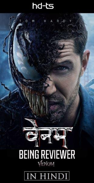 Venom (2018) Hindi + English 720p | 480p Free Download