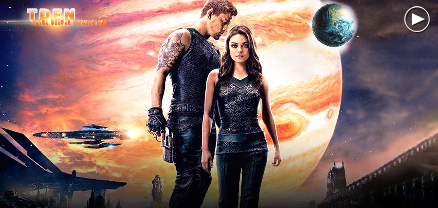 Channing Tatum şi Mila Kunis în filmul Jupiter Ascending