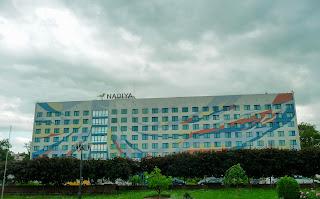 Івано-Франківськ. Площа Івана Франка. Готель «Надія»