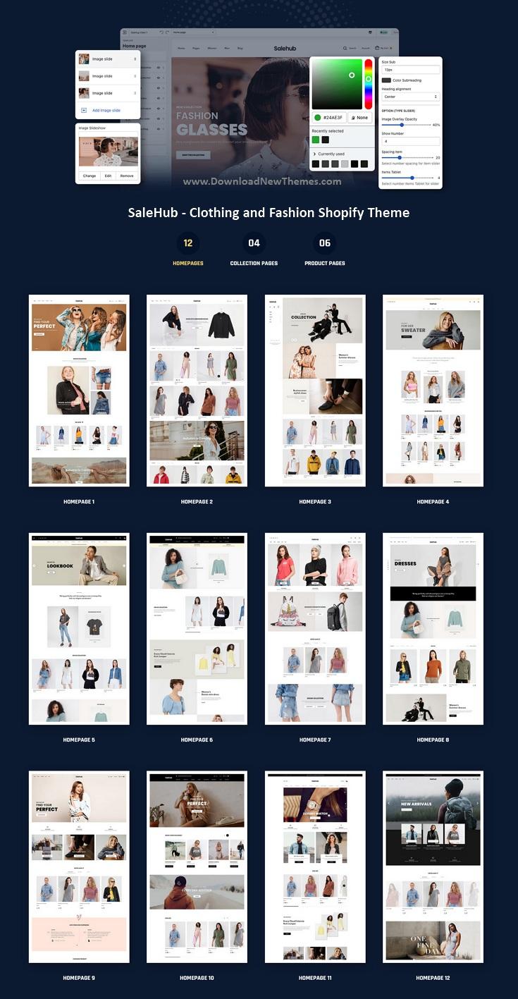 Clothing and Fashion Shopify Theme