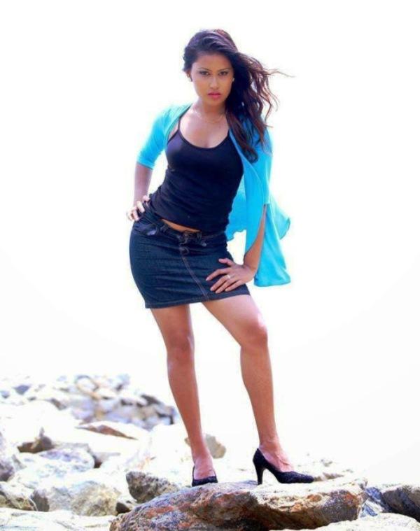 Sri Lankan Models Chathu Paba