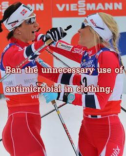 Sportswear can provide antibiotic resistance