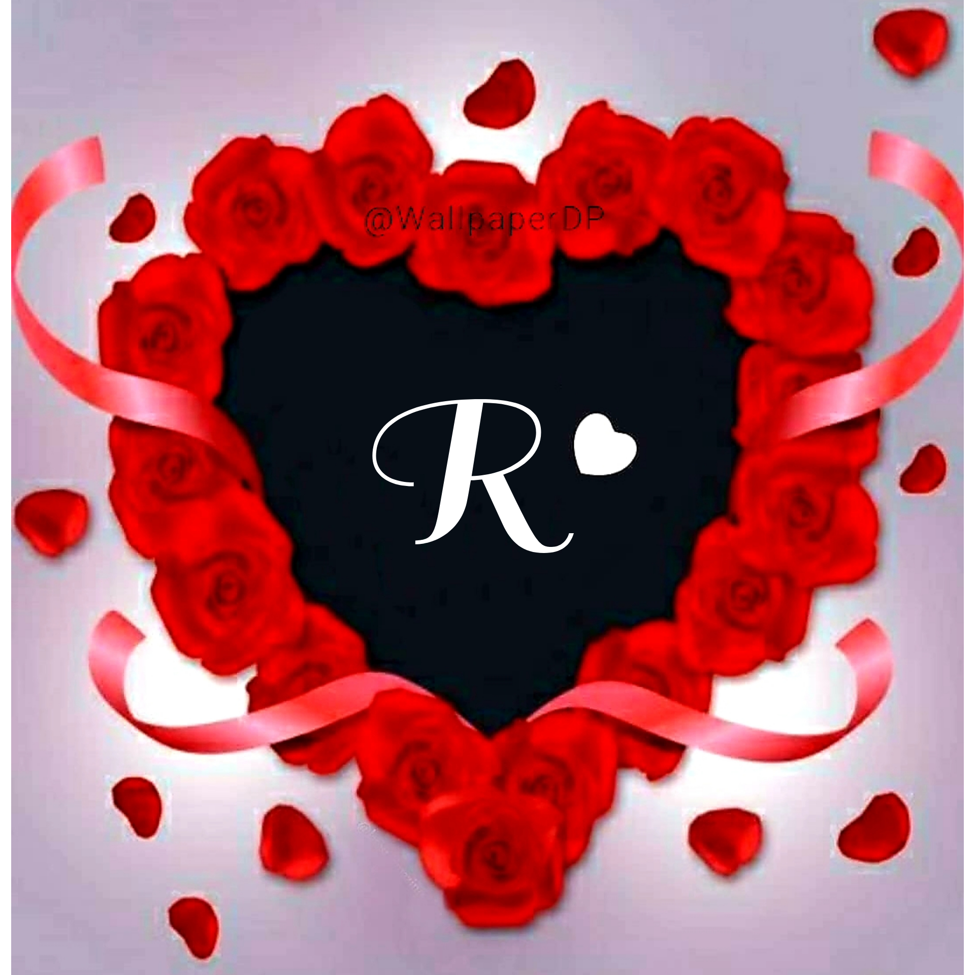 Stylish A To Z Red Heart Alphabets Letters Pics Name Dpz Wallpaper Dp