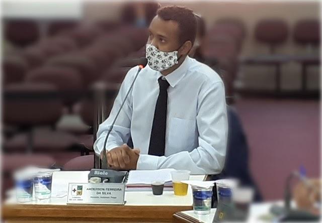 Vereador Anderson Prego explica as funções e importância da Comissão de Constituição e Justiça