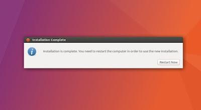 Tutorial Lengkap Cara Install Ubuntu 17.04 Zesty Zapus Lengkap Dengan Gambar Via USB Flashdisk