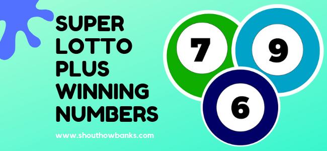 california super lotto winning numbers