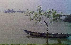 Di Tepi Sungai Rup-Narayan - Rabindranath Tagore