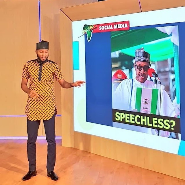 Journalist and AIT Presenter Ohimai Amaize Flees Nigeria Over Threats of Arrest and Treason Implication by Buhari's government