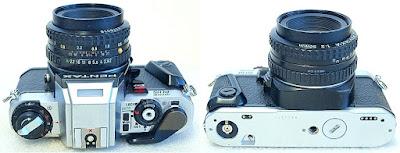 Pentax Program Plus (Chrome) Body #365, Pentax SMC-A 50mm F2 #316