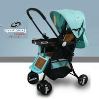 kereta dorong bayi spacebaby sb6216 baby stroller
