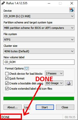 Tutorial lengkap cara membuat bootable OS dengan Rufus