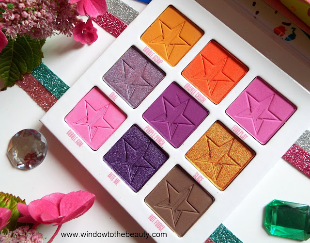 Jeffree Star Cosmetics Mini Breaker Palette Review