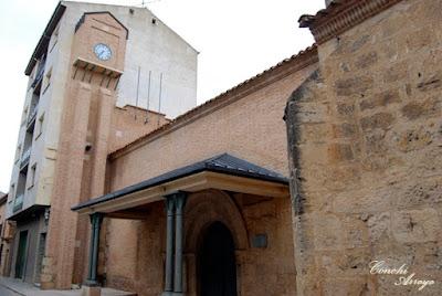 Iglesia de San Vicente que la actualidad no tiene uso religioso, es un Aula de Cultura