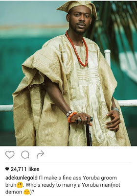 Nigeria Singer Adekunle Gold