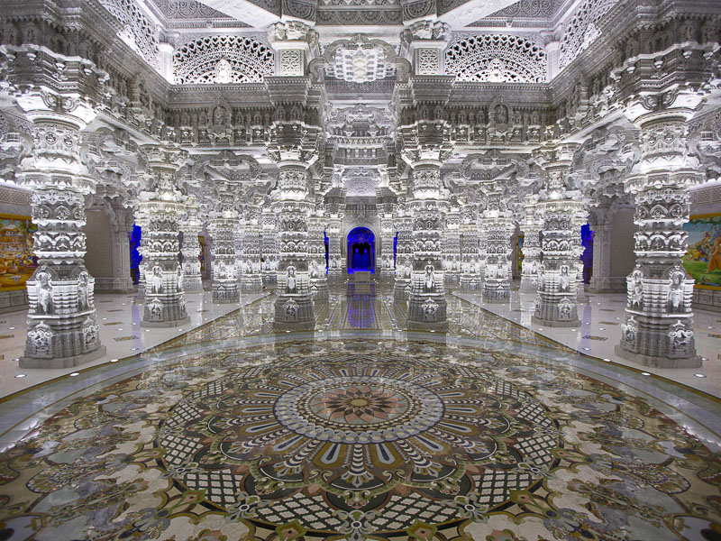 The Akshardham Temple, Robbinsville, New Jersey, U.S.A