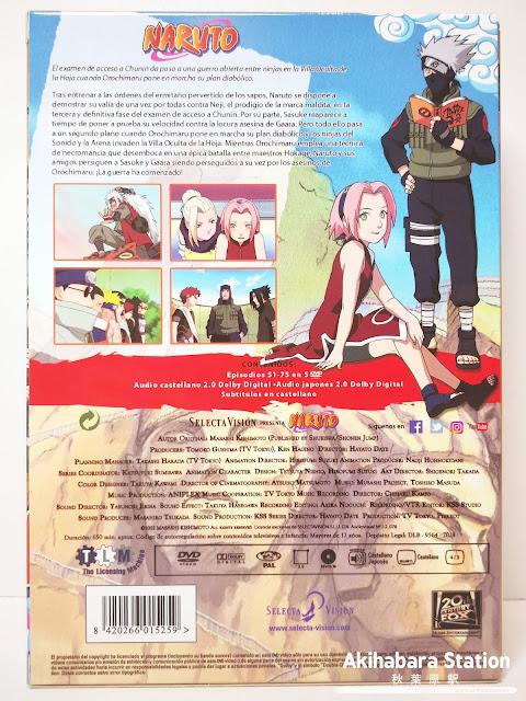 """Review de """"Naruto"""" DVD BOX 3 - SelectaVisión"""