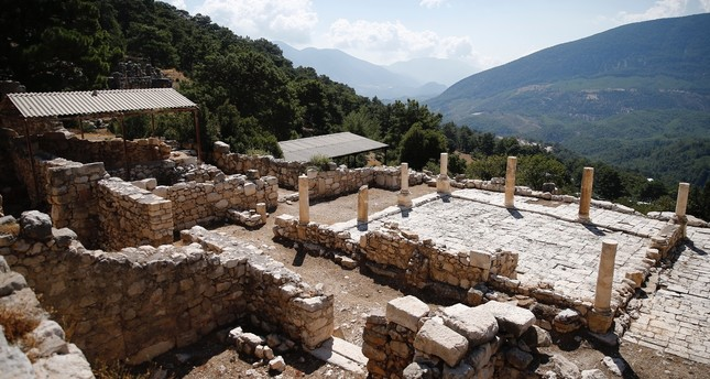 Ruins of 1,700 year old villa discovered in ancient city of Arykanda