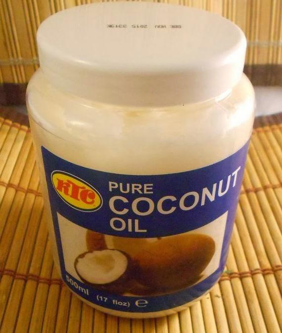 Olejek kokosowy KTC i moje spostrzerzenia