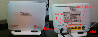 Setting UseeTV Indihome Via Wireless