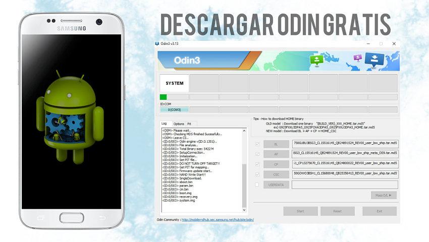 Samsung Odin - Descargar Odin gratis