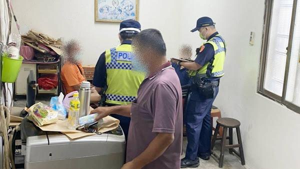 你照打我續罰 彰化警察查獲4件21人群聚打牌
