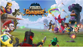 Download Tower Conquest Mod Apk Unlimted Gems and Money