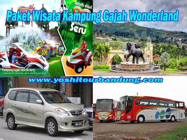 Paket Wisata ke Kampung Gajah Lembang Bandung