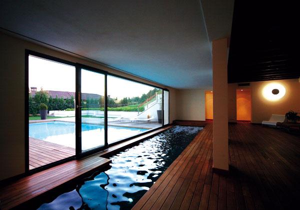 Archi love piscina terapy for Piscina in casa