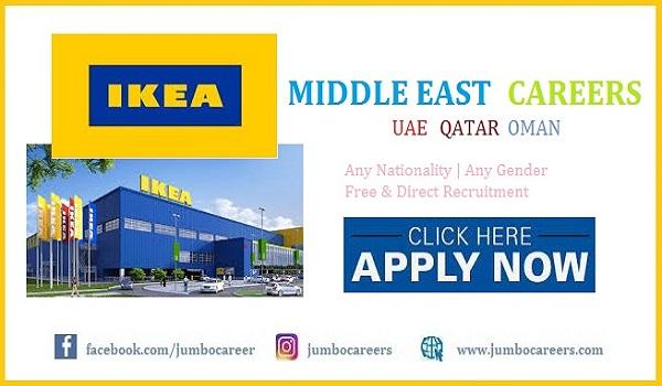 Ikea Oman jobs 2021  al Futtaim ikea jobs Doha 2021   Ikea Doha job salary  Ikea Qatar jobs 2021   Ikea Dubai job vacancies   IKEA UAE salary