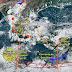 Depresión 13-E causará intensas lluvias en varios estados del país
