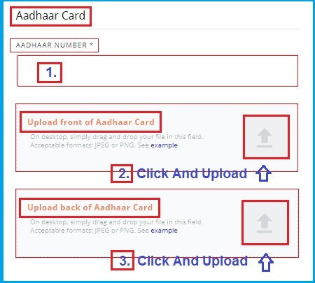 wazirx aadhaar card verification