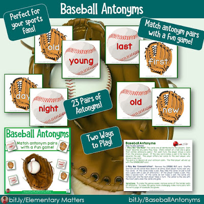 https://www.teacherspayteachers.com/Product/Baseball-Antonyms-Card-Game-212468?utm_source=baseball%20blog%20post&utm_campaign=baseball%20antonyms