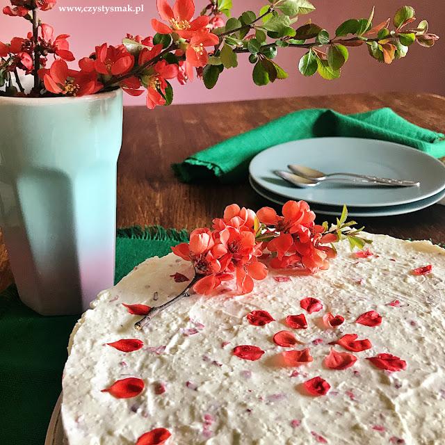 Piankowe ciasto śmietankowe