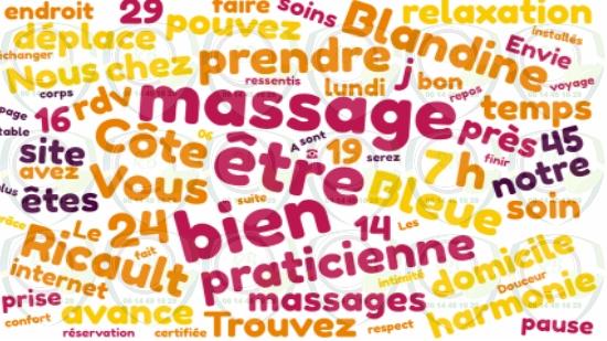 Praticienne en massage bien-être près de chez vous Côte Bleue;