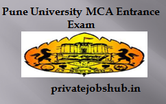 Pune University MCA Entrance Exam