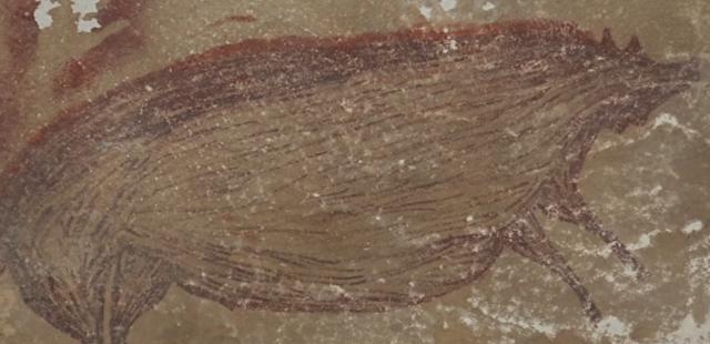 Ινδονησία: Βρέθηκε η αρχαιότερη σπηλαιογραφία ζώου 45.000 ετών