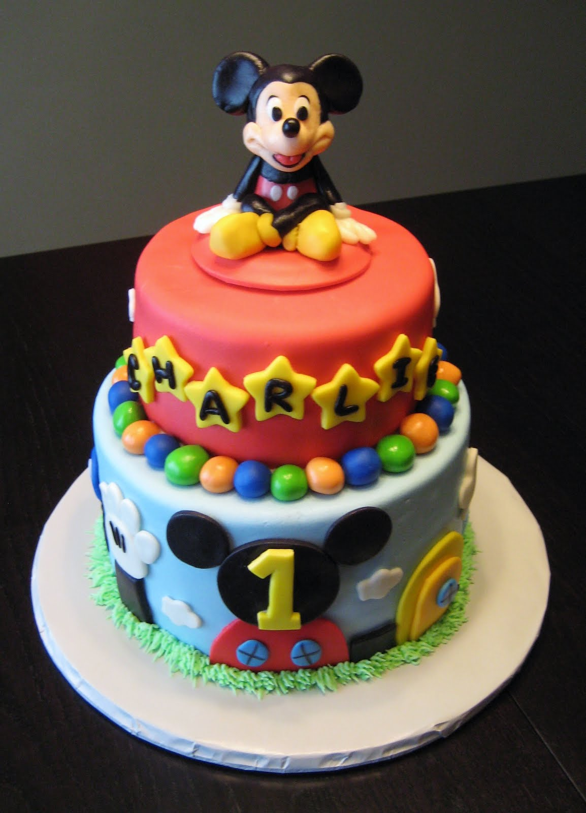 Baby Mickey Cakes Birthday