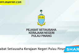 Jawatan Kosong di Pejabat Setiausaha Kerajaan Negeri Pulau Pinang.