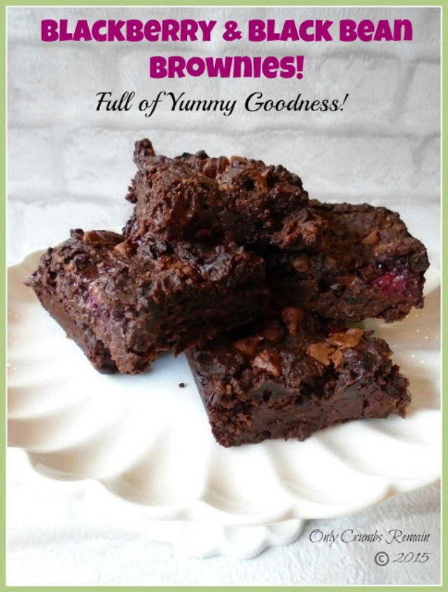 Gluten free and refined sugar free brownies made with blackbeans