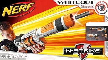 Súng Nerf Spectre REV-5 Whiteout