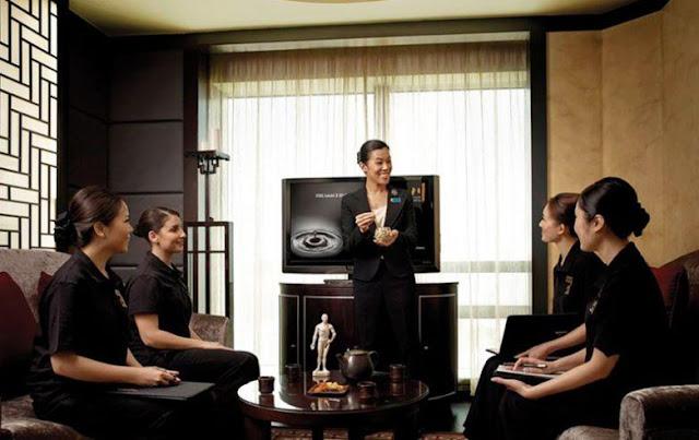 mô tả công việc quản lý spa
